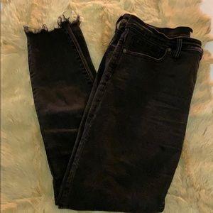 "Madewell Jeans - Madewell 9"" skinny jeans, black."